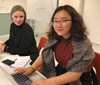 Students on the Master's Programme in Design