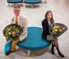 Alumni of the Year 2020: Anders Tegnell and Linnea Bergman.
